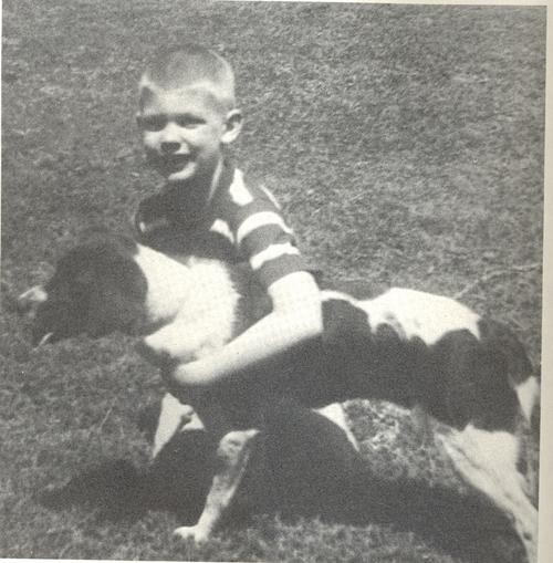 Jeffrey Dahmer as a child