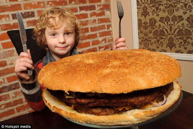 Britain's biggest burger