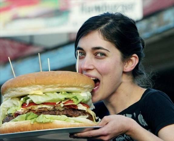 Australia's biggest burger