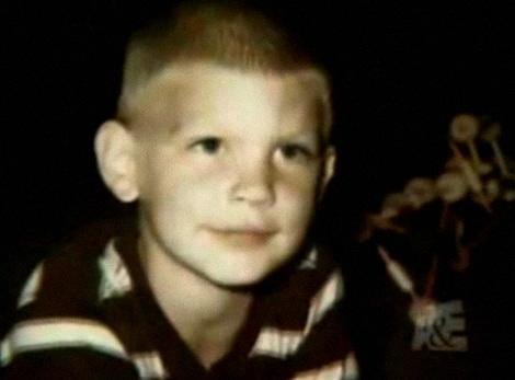 Jeffrey Dahmer as a young boy