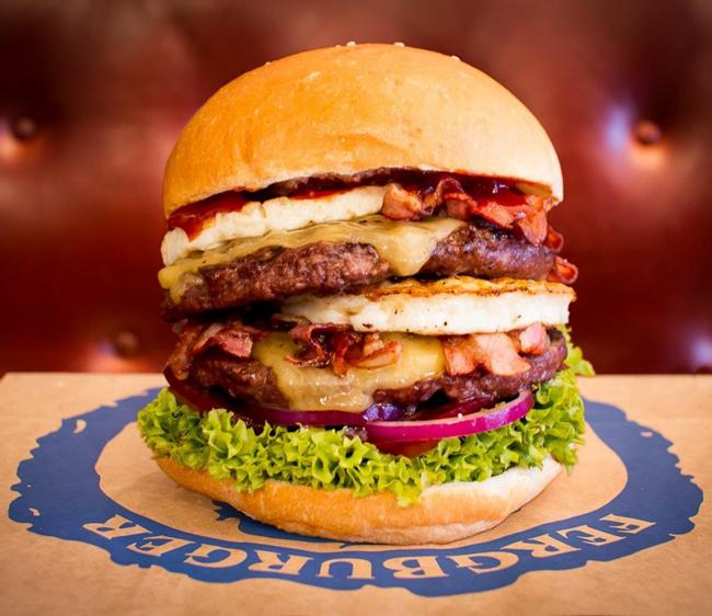 The Big Al Burger Challenge - Fergburger
