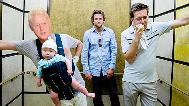 Bill Clinton The Hangover