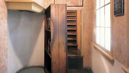 Secret Annex in Anne Frank's house