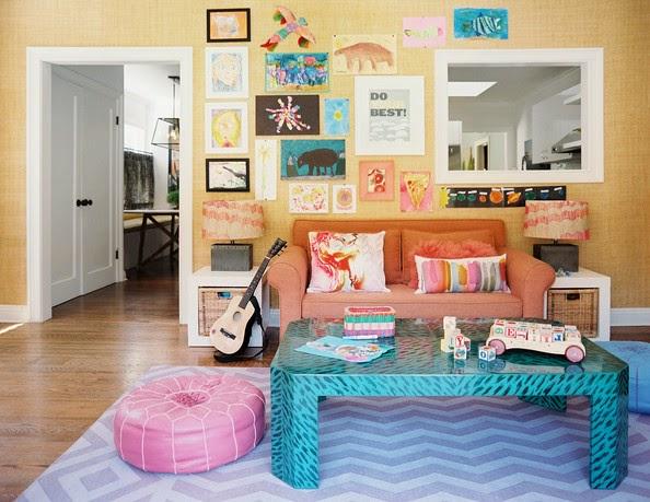 Children's art home decor
