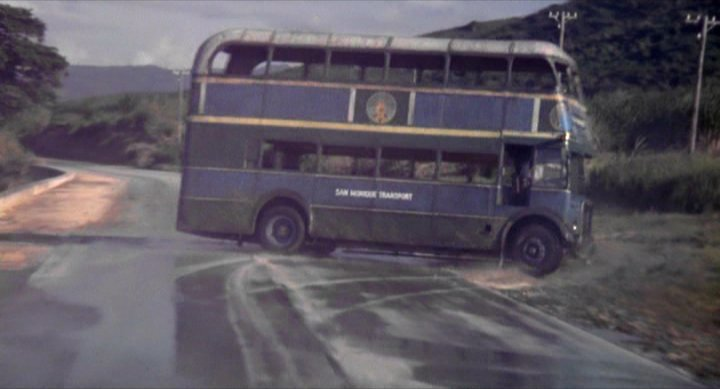 Live and Let Die (1973) Bus chase