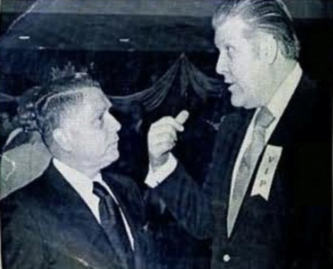 Frank Sheeran and Jimmy Hoffa