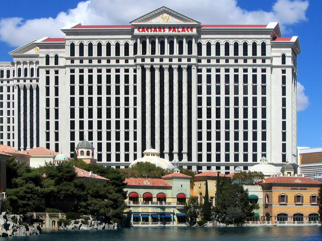 Caesars Palace Hotel, Las Vegas, Nevada.