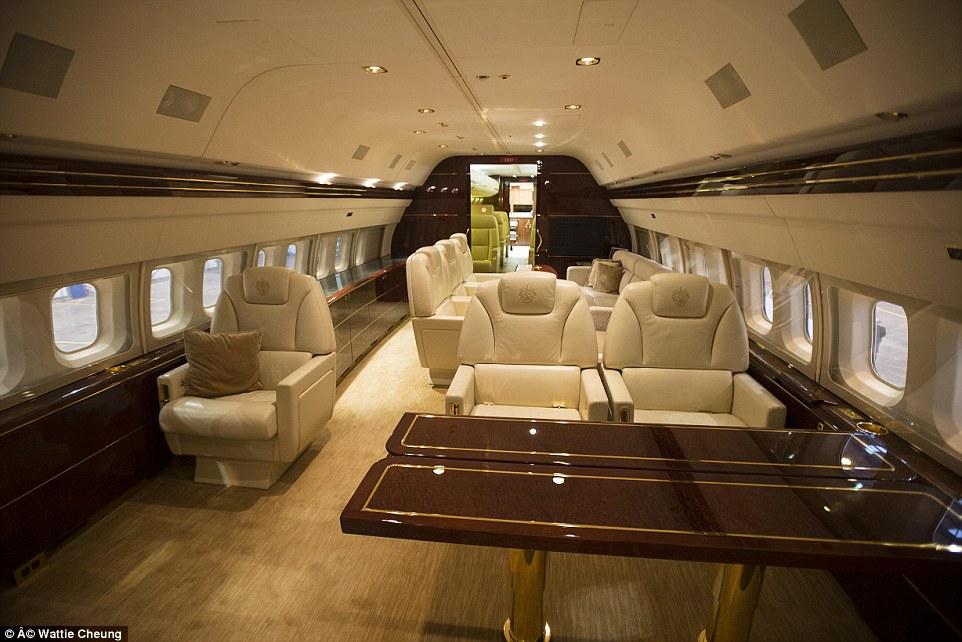 Donald Trump's plane
