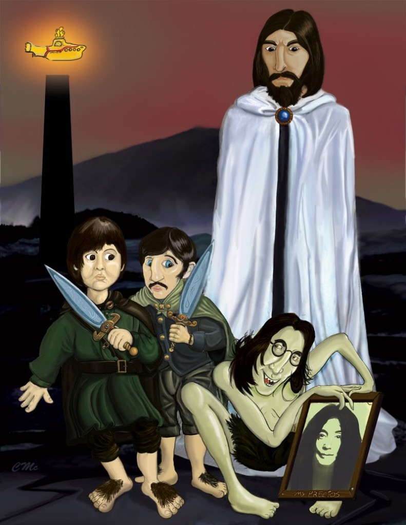Lord of the Rings The Beatles