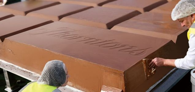 Thornton's big chocolate bar