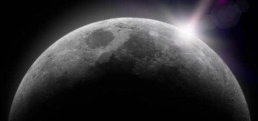 Moon sunlight