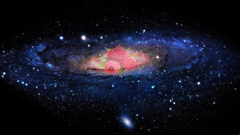 Galaxy raspberries