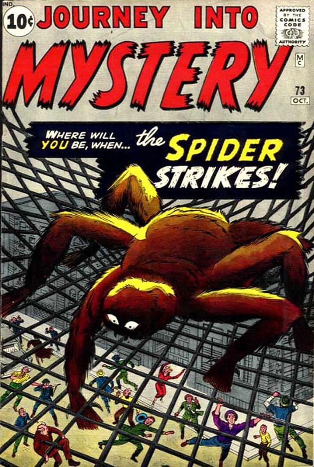 first spiderman comic