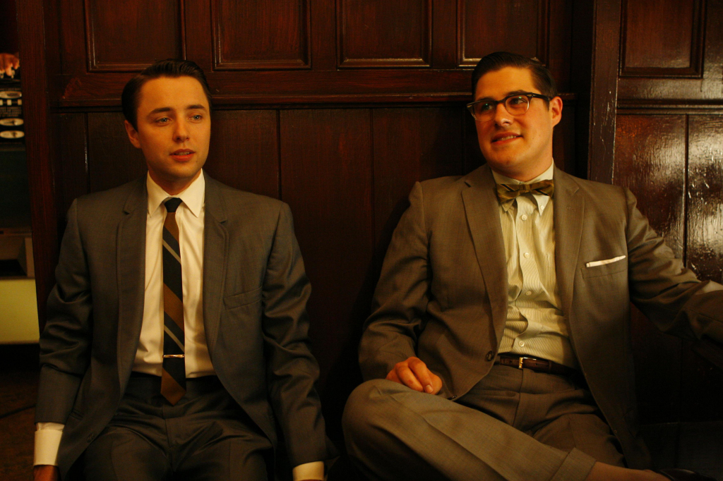 Pete and Harry Mad Men