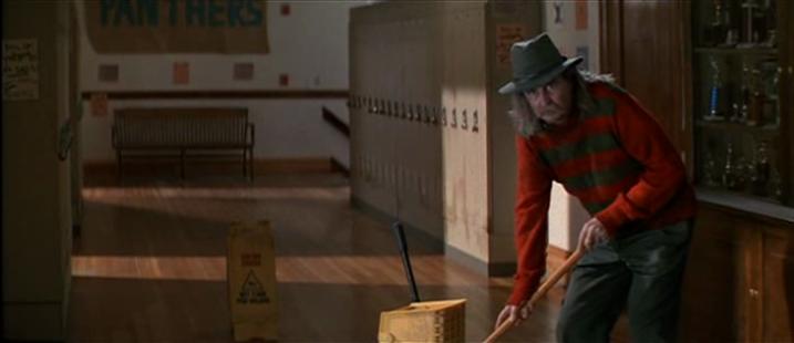 Scream janitor