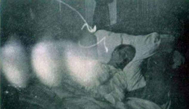 dying man ghost