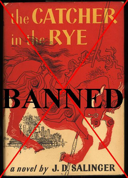 The Catcher in the Rye banned