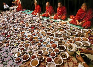 Cambodian Day of the Dead -- Pchum Ben -- in San Jose, California.