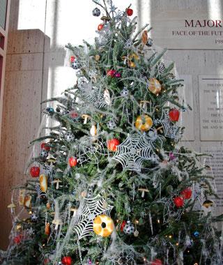 christmas tree in Ukraine