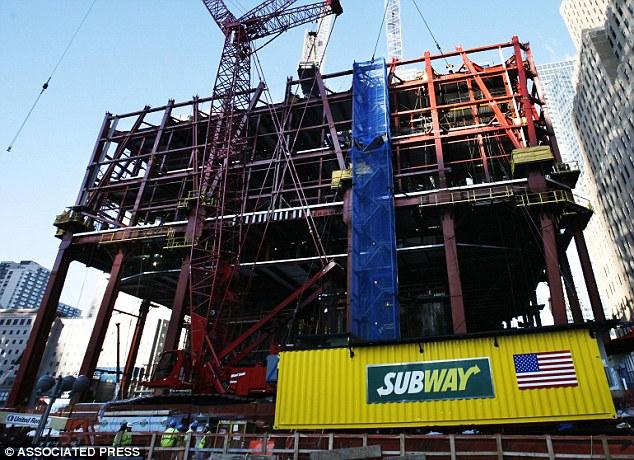portable subway at world trade centre
