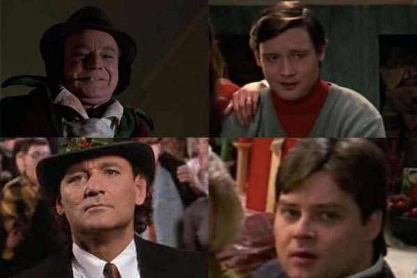 scrooged bill murray's brothers