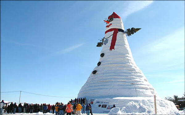 world's largest snowman