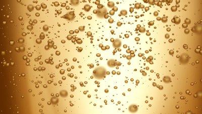 bubbles in Champagne