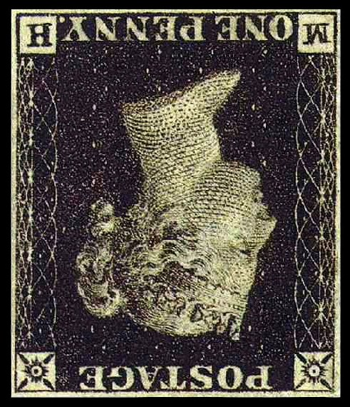 upside down postage stamp