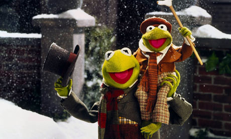 Kermit and Robin The Muppet Christmas Carol