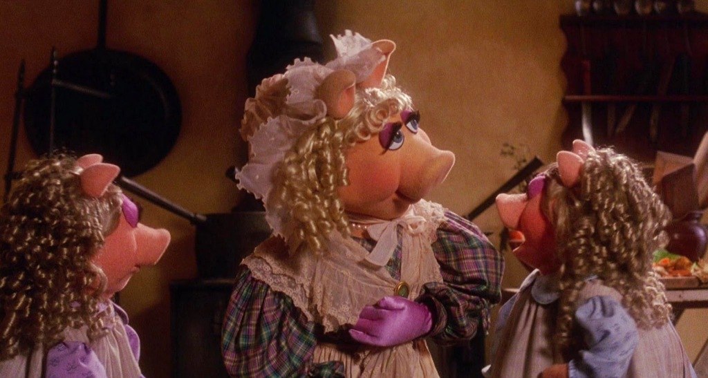 Miss Piggy and the Cratchit daughters
