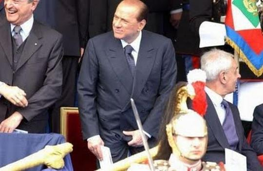 Silvio Berlusconi funny photo