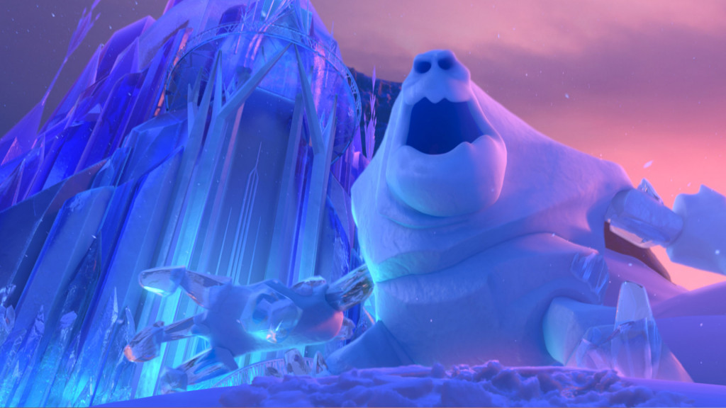 Ice Palace from Frozen