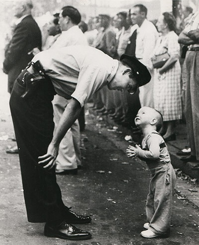 The Policeman and the Toddler