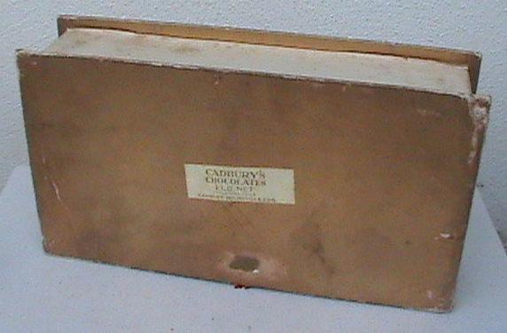cadbury chocolate box