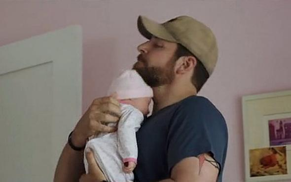 American sniper fake baby