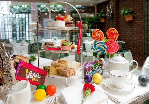 Charlie and the Chesterfield Afternoon Tea