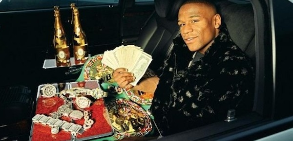 Floyd Mayweather money