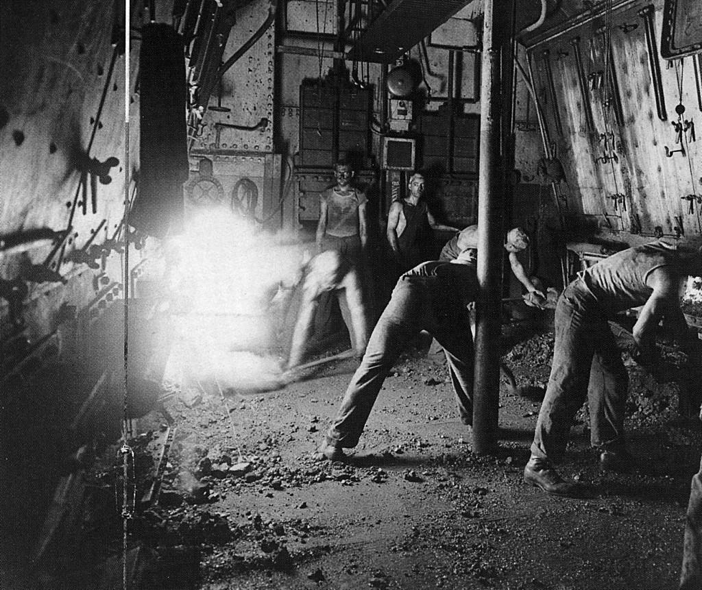 coal bunker titanic