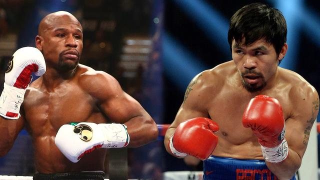 mayweather jr and pacquiao