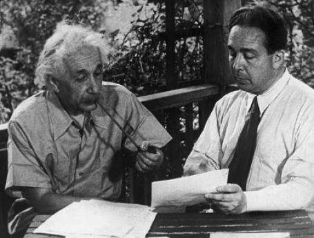 Einstein & Roosevelt