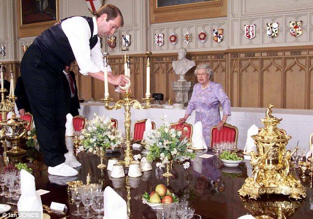 Queen Elizabeth's Household Staff