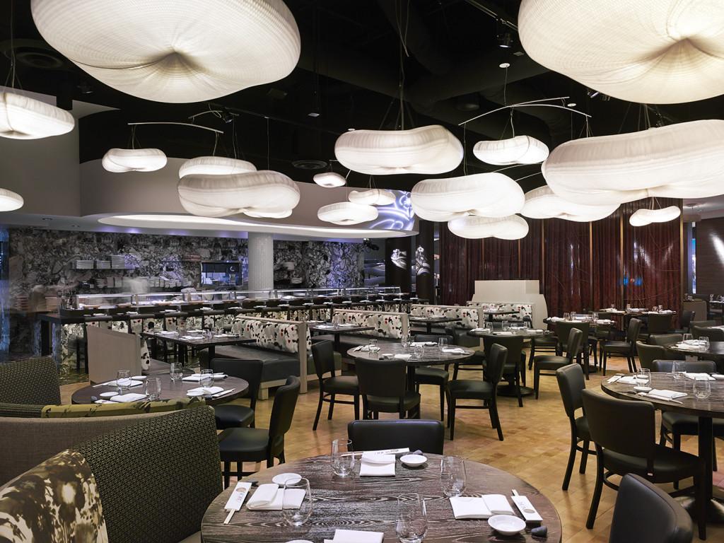 Nobu restaurant at Caesars Palace in Las Vegas