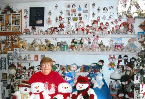 largest snowmen collection