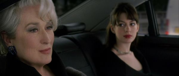 Devil Wears Prada car scene