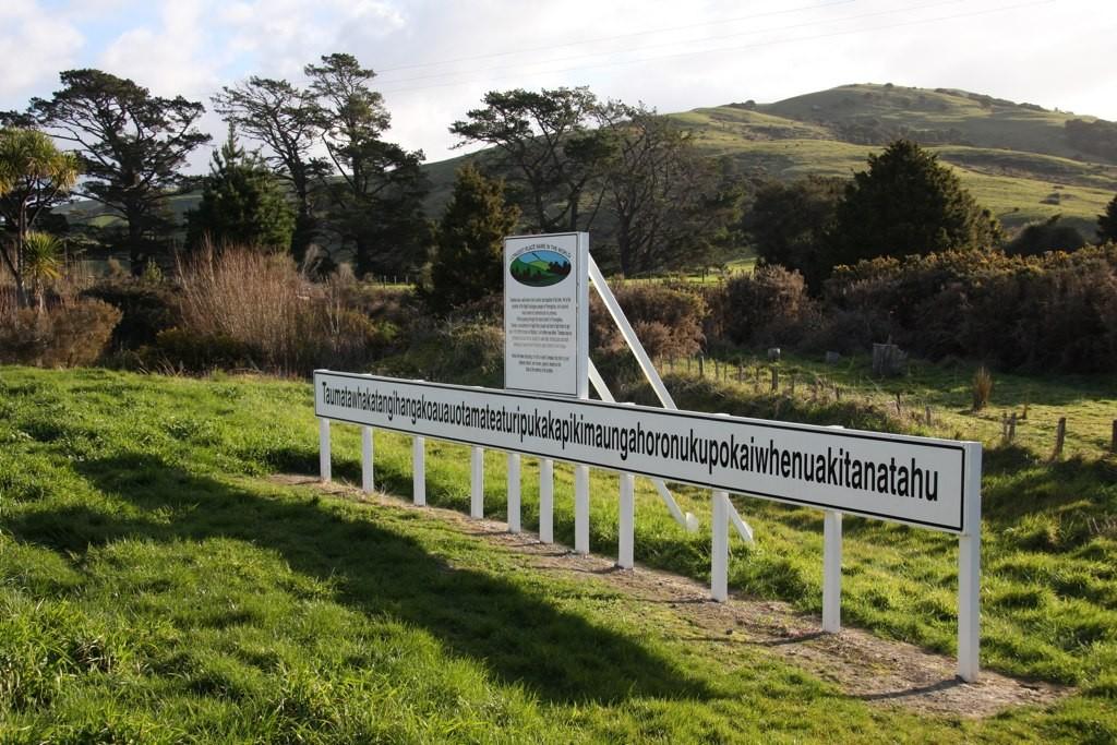 longest name New Zealand