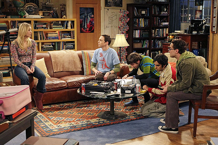 the big bang theory couch